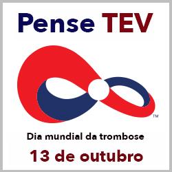 Logo da campanha de conscientização da trombose venosa