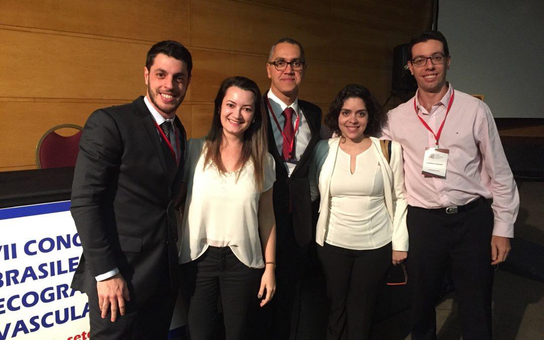 Clínica Fluxo no Congresso Brasileiro de Ecografia Vascular