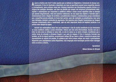 Contra-capa do livro Doppler das Artérias carótidas e Vertebrais