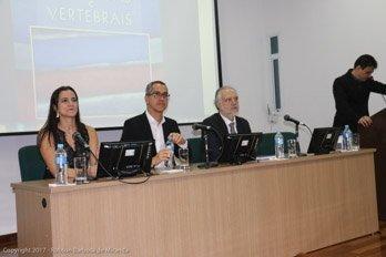 Dra. Viviane Couto, Dr. Robson Barbosa de Miranda, e Dr. João Eduardo Charles, presidente da APM SBC/D - livro Doppler das Artérias carótidas e Vertebrais