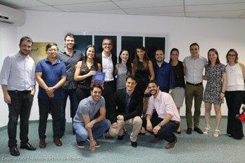 Ex-alunos e residentes do Dr. Robson Barbosa de Miranda