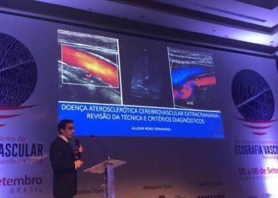 Curso Básico de Ecografia Vascular com Doppler Pré-congresso - Congresso Brasileiro de Ecografia Vascular - Allison Fernandes2