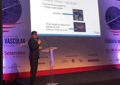 Curso Básico de Ecografia Vascular com Doppler Pré-congresso - Congresso Brasileiro de Ecografia Vascular - Rafael Couto Melo