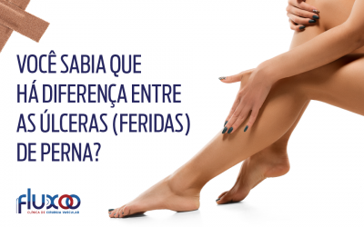 Feridas vasculares nas pernas- Infográfico