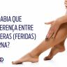 feridas nas pernas